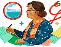 Google Doodle: N.H.Dini