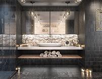 Interior Render - Modern Bathroom.