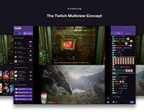 Twitch Multiview Feature Concept