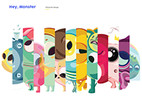 Hey Monster_ Character Design