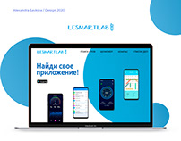 Landing page for mobile apps account on Google Play