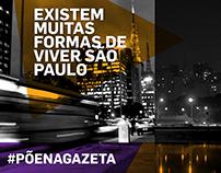 TV Gazeta - Campanha Publicitária (Proj. Experimental)