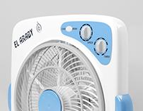 3ds Designs - ElAraby Toshiba Box fan