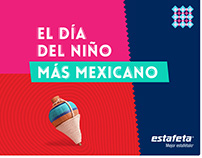Día del niño más mexicano por estafeta