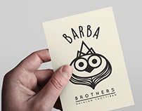 Barba Brothers Food Truck - Logo Design