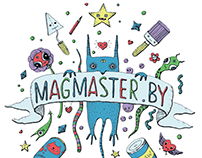 Magmaster monsters. Brandbook Elements