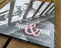 Wedding Cards - Invitaciones Boda - Thais & Jose
