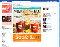 Khol's Digital Campaign for Yankee Candle