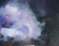 Play with smoke