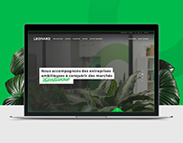 Leonard - Website Redesign