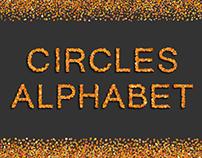 Alphabet from circles