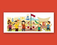 Google Doodle - Indonesia