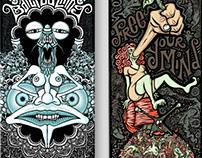 T.U.M Skateboard series - part 1 (decks 1+2)
