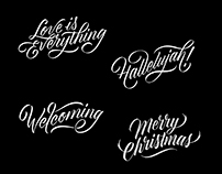 Lettering for Greeting Cards