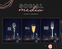 Social Media - LAUNCH CAMPAIGN- SKAI
