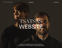 TSATSAS Website Redesign