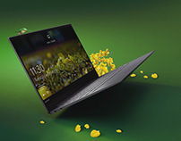 Lenovo Yoga Spring | 3D Animation