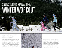 Snowshoeing: Revival of a winter workout