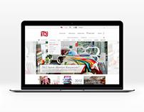 Taç - Corporate Website and eCommerce Project Design