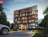 Exterior residential visualization @ con creative