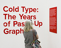 Cold Type: The Years of Paste-Up Graphics