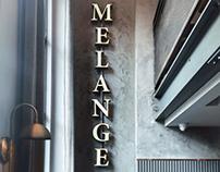 Melange Restaurant Rebrand