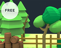 Free Low Poly 3D Game Assets