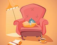 Vector Cozy Illustrations
