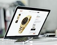 Dumont watches e-commerce