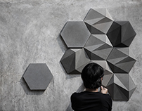 Concrete Wall Decoration - SAN