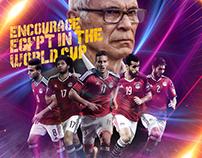 Egypt V.s Uganda | AL-Ahly EL-Youm Social Media Project