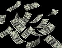 Money mockup - Free PSD