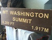 White Mountain Trail Sign Replicas - Trailsigns
