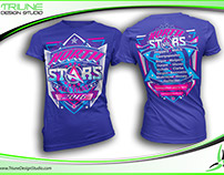 Tshirt Design for All That/North Stars Cheer