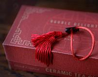 Tea cups packaging