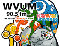 Kawaii Universe - University of Miami - WVUM Design