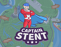 Captain Stent - mobile edu game