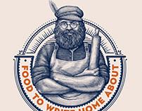 Schreiber's Bakery Logomark illustrated by Steven Noble