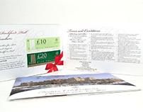 A5 Landscape Folder Brochures Printing