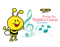 Tommy Bee Children's music book