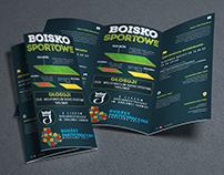 Sports field brochure