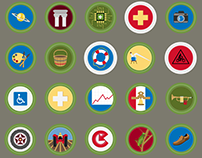 Merit Badges Reinterpretation