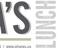 Restaurant Brand Refresh - O'Hara's and Paddy's