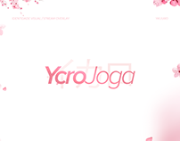 Identidade visual e Overlay - YcroJoga