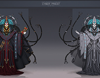 Cyber Priest concept