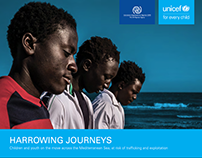 Harrowing Journeys (UNICEF report)