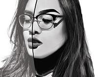 Half Photo, Half Drawn