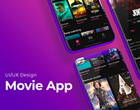 UI/UX - Movie App