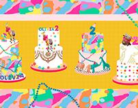 Cake Illustrations