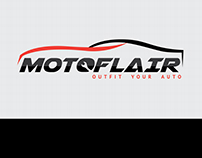 MOTOFlAIR Logo & Brand Identity